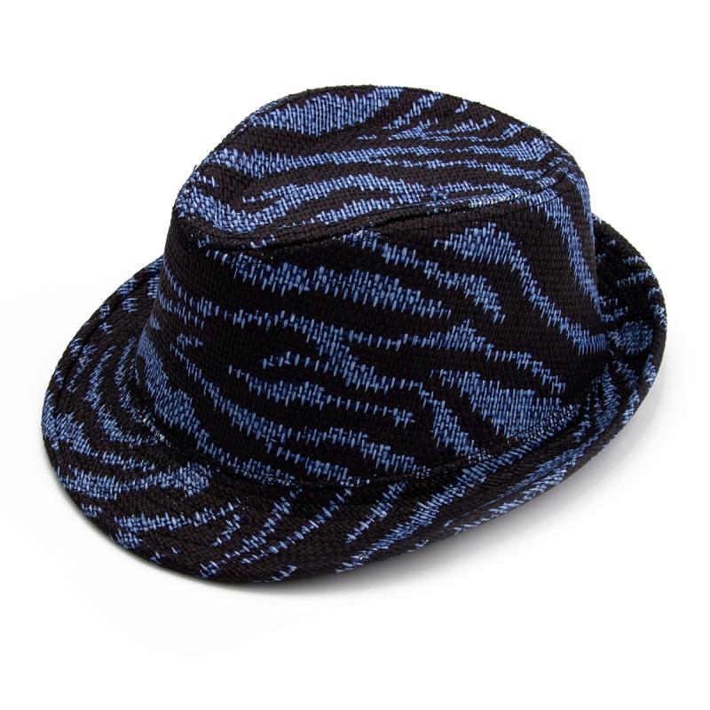 Шляпа Синий Сетка 8666 Persey